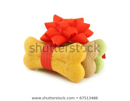 Pet Dogs Bone Christmas or Birthday Gift  Stock photo © Krisdog