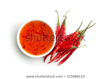 Thai sweet aigre sauce ingrédients alimentaire Photo stock © Alex9500