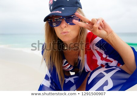 australian culture   love australia good vibes chilling out stock photo © lovleah