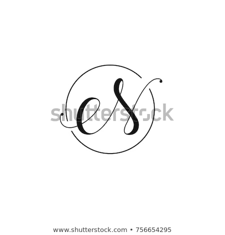 o letter logo black pink icon element vector Stock photo © blaskorizov