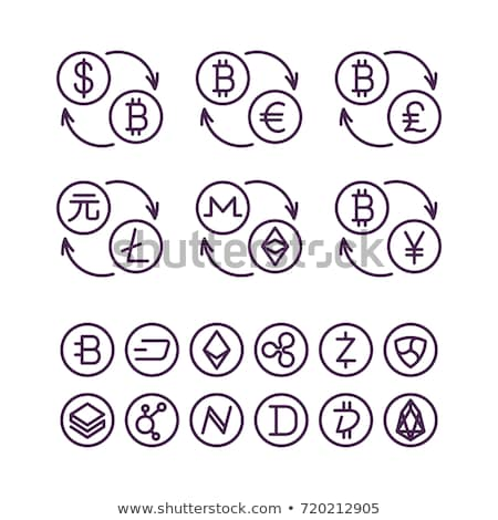 Yen Chinese Coin and Currency Icon Digital Vector Stock photo © robuart