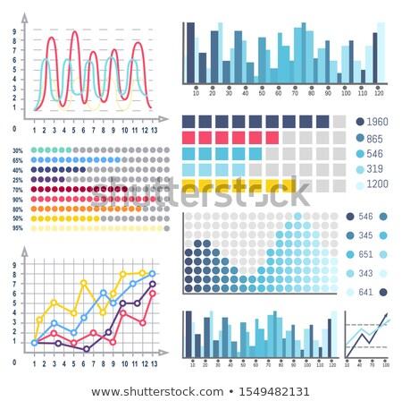 Весы бизнеса информации вектора Сток-фото © robuart
