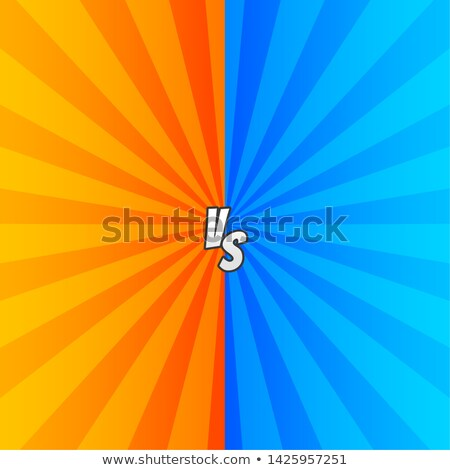 comic versus styl background with zoom rays Stock photo © SArts