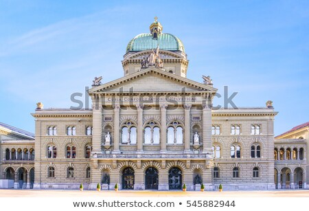 Federal Palace of Switzerland, Bern Stock photo © borisb17