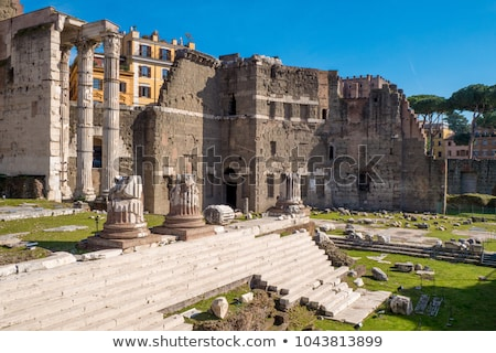 форуме Рим один Италия храма город Сток-фото © borisb17