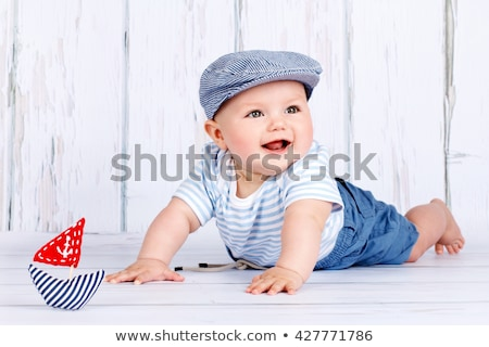 Baby boy studio  Stock photo © Lopolo