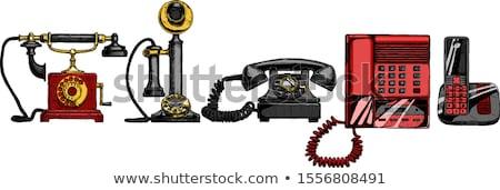 Radio telephone Stock photo © restyler
