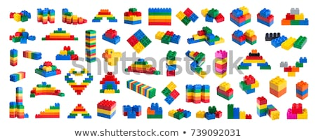 multi colored building blocks Stock photo © vladacanon
