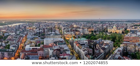 Square with National Assembly, Belgrade, Serbia Stock photo © borisb17