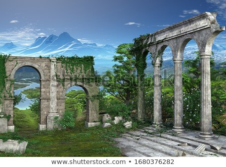 3d render illustration on Greece Europe culture Stock photo © Melvin07