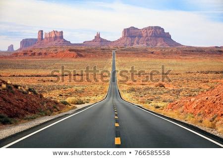 mitaines · vallée · parc · USA · paysage · Voyage - photo stock © phbcz