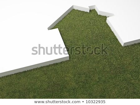 echo house metaphor  Stock photo © rufous