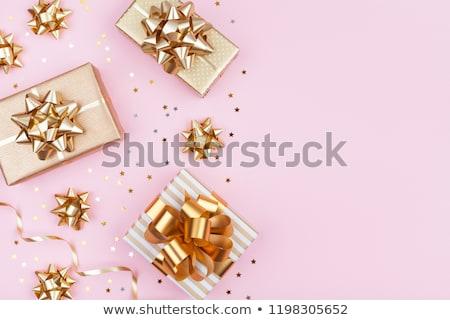 vrolijk · christmas · vierkante · vector · wenskaart · kerstman - stockfoto © vichie81
