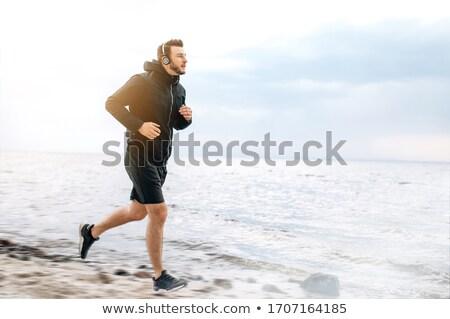 erkek · plaj · kulübe · plaj · duvar · yaz - stok fotoğraf © pablocalvog