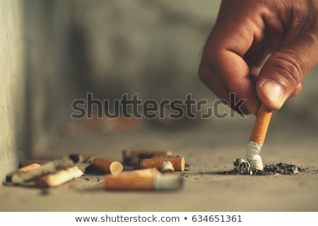 cigarette butts in an ashtray stock photo © photography33