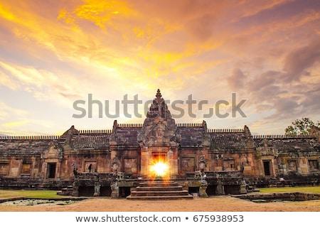 Phanom Rung historical park Stock photo © Witthaya