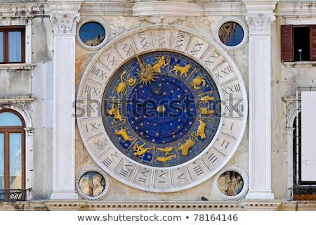 astrologia · clock · zodiaco · piazza · Venezia · blu - foto d'archivio © mariematata