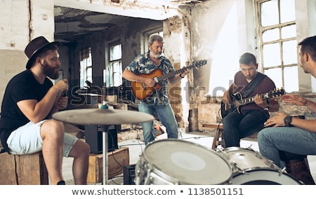 A band jamming together Stock photo © photography33