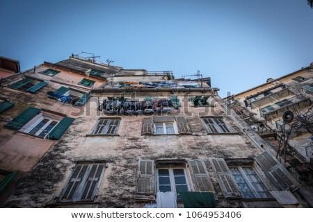 ancient house ventimiglia italy stock photo © rglinsky77