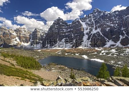 morena · lago · Canadá · parque · água · paisagem - foto stock © skylight