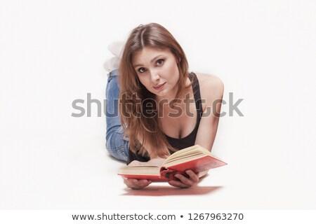 少女 · 午前 · かわいい · 若い女の子 · クロック · 健康 - ストックフォト © leonido