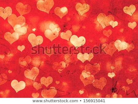 Celebratory background with hearts Stock photo © UrchenkoJulia