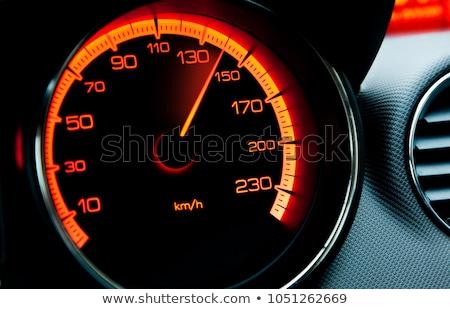 Speedometer of a car Stock photo © ozaiachin