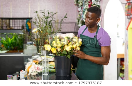 African florist Stock photo © photography33