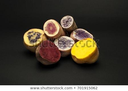 Egzotik patates hollanda sarı mor Stok fotoğraf © bendicks