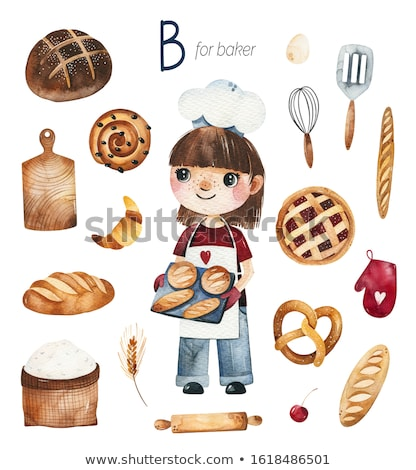 Eggs, flour, rolling pins & more...  Stock photo © danielgilbey