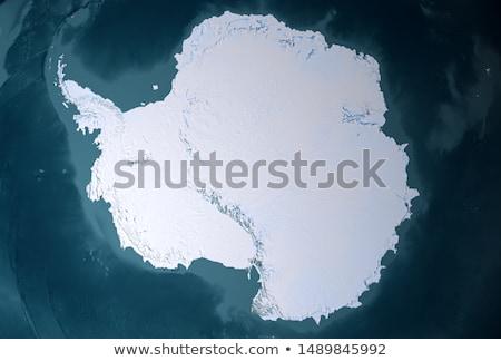 Dağ deniz kar soğuk kutup küresel isınma Stok fotoğraf © timwege