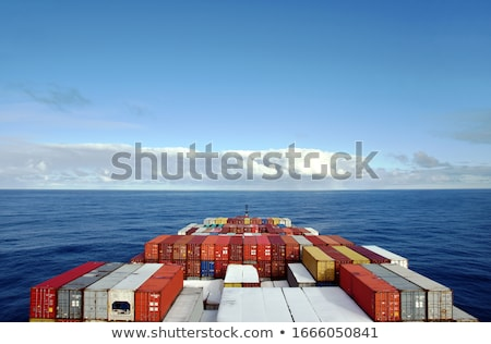 freight ship in the sea stock photo © mahout