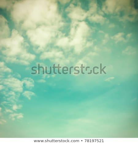 старые · окрашенный · небе · облака · текстуры - Сток-фото © frannyanne