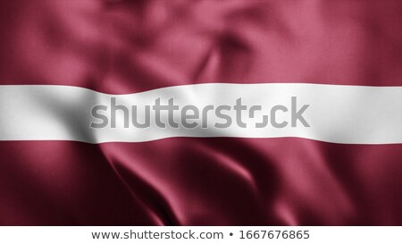ткань текстуры флаг Латвия синий лук Сток-фото © maxmitzu