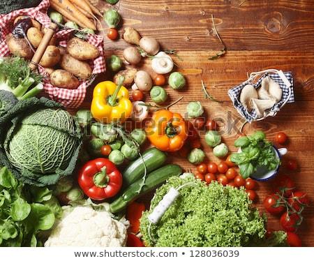 coleção · fresco · ervas · necessário · cozinha · espinafre - foto stock © keko64