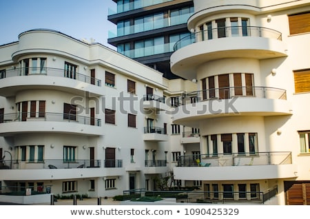 Bauhaus Building in Tel-Aviv Stock photo © eldadcarin