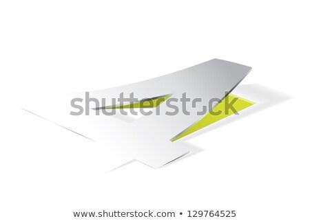 紙 · 番号 · 観点 · 表示 · ベクトル - ストックフォト © archymeder