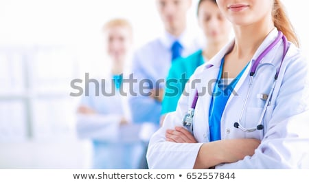 health care professional in lab stock photo © kasto