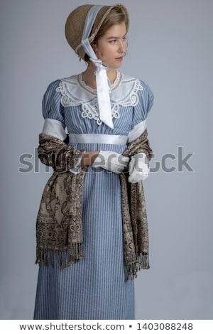 女性 · 長い · ブラウン · きれいな女性 · ストレート · 茶色の髪 - ストックフォト © chesterf
