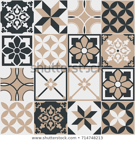 geleneksel · mozaik · model · dışında · binalar - stok fotoğraf © creative_stock