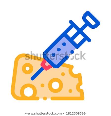 Venenoso inyección resumen vidrio líquido farmacia Foto stock © OleksandrO