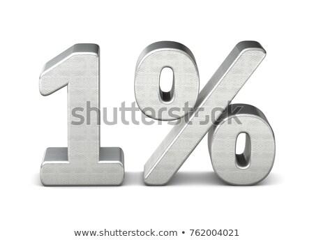 1 Percent Stock photo © make