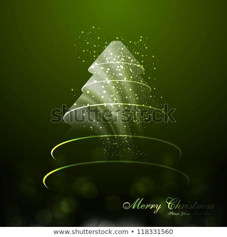Fantastyczny powitanie karty kartkę z życzeniami christmas Zdjęcia stock © tintin75