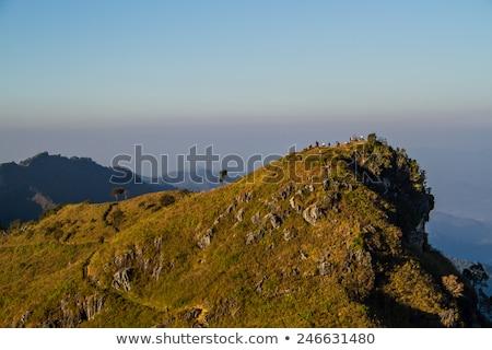 рок Оман изображение известный небе человека Сток-фото © w20er