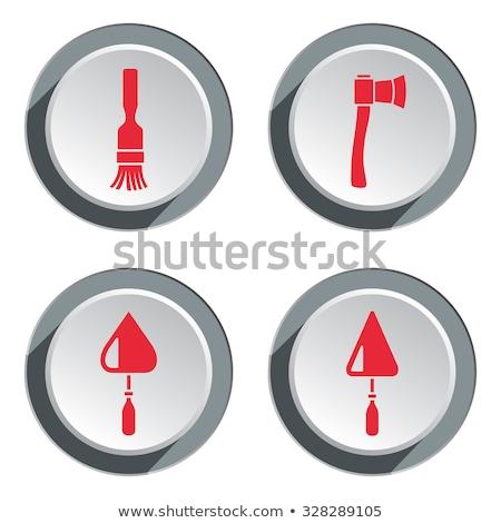Labour Red Vector Icon Button Stock photo © rizwanali3d