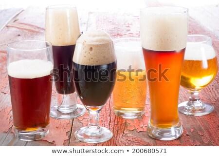 beer of different varieties  Stock photo © OleksandrO