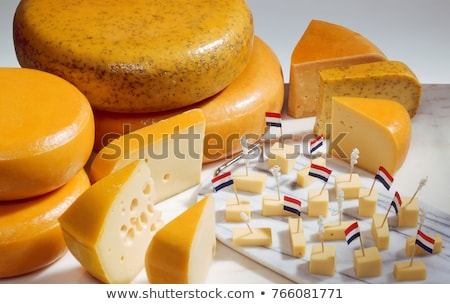 Cut · голландский · сыра · завтрак · Голландии · Нидерланды - Сток-фото © wime