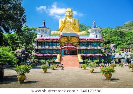 Buddha statues in Dambulla Cave Temple Stock photo © Mikko