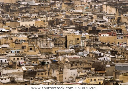 morocco slum Stock photo © tony4urban