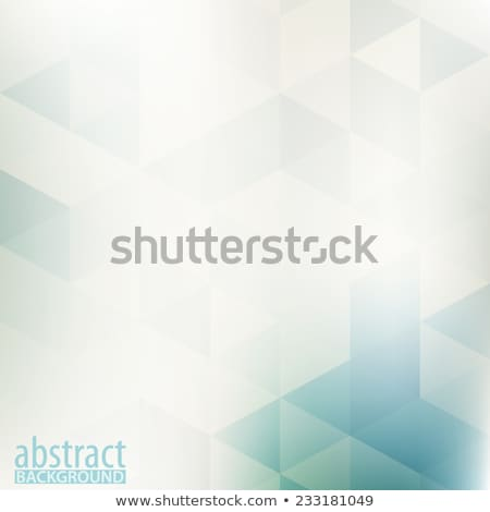 Vector abstract light green background with subtle geometric tex Stock photo © netkov1